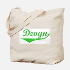 Devyn Vintage (Green) Tote Bag