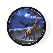 Brachiosaur 1 Wall Clock
