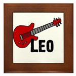 Guitar - Leo Framed Tile