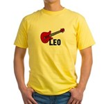 Guitar - Leo Yellow T-Shirt