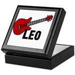 Guitar - Leo Keepsake Box