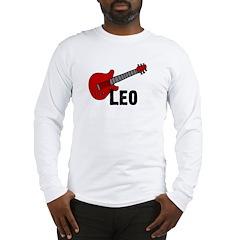 Guitar - Leo Long Sleeve T-Shirt