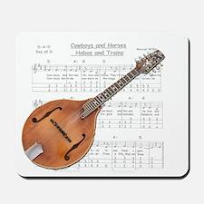 Mandolin and Cowboys Mousepad