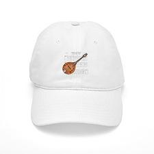 Mandolin and Cowboys Baseball Cap