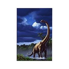 Brachiosaur 1 Rectangle Magnet