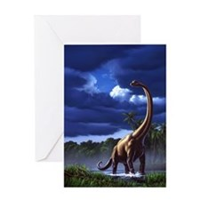 Brachiosaur 1 Greeting Card