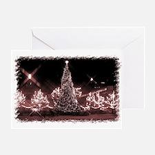 Toronto City Hall - Xmas Red Greeting Card