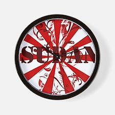 Cute Darfur Wall Clock