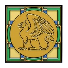 Gryphon Guardian -Tile Coaster