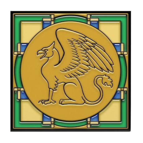 Gryphon Guardian -Tile Coaster
