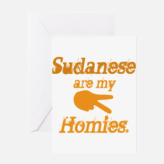 Sudanese are homies Greeting Card
