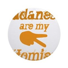 Sudanese are homies Ornament (Round)