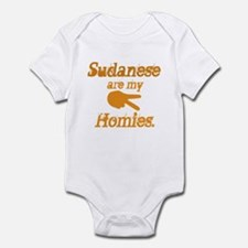 Sudanese are homies Infant Bodysuit