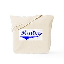 Hailee Vintage (Blue) Tote Bag