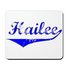 Hailee Vintage (Blue) Mousepad