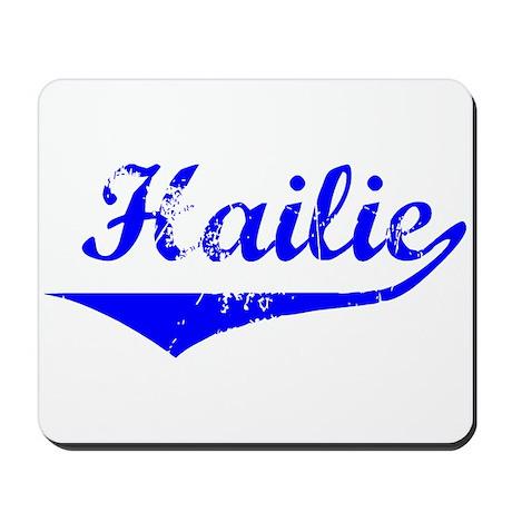 Hailie Vintage (Blue) Mousepad
