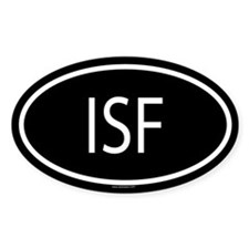 ISF Oval Decal