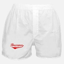 Breana Vintage (Red) Boxer Shorts
