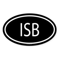 ISB Oval Decal