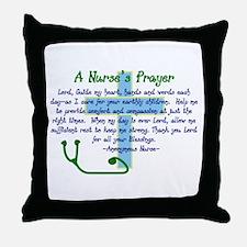 Unique Ccu nurse Throw Pillow