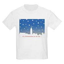 White Skyline Cards T-Shirt