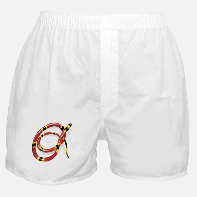 Coral Snake Boxer Shorts