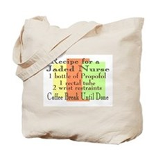 Cute Funny neuro nurse Tote Bag