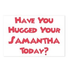 Have You Hugged Your Samantha Postcards (Package o