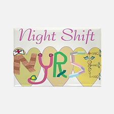Night Shift Nurse Magnets