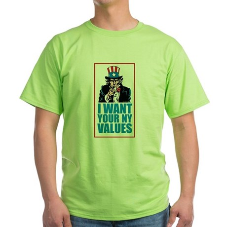 Uncle Sam #1 - New York Values T-Shirt