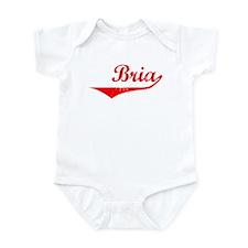 Bria Vintage (Red) Infant Bodysuit