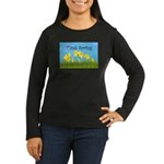 Think Spring Women's Long Sleeve Dark T-Shirt