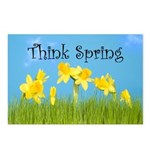 Think Spring Postcards (Package of 8)