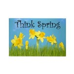 Think Spring Rectangle Magnet (10 pack)