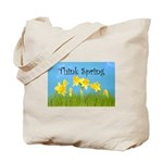 Think Spring Tote Bag