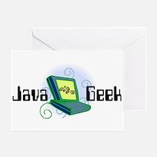 Java Geek Greeting Cards (Pk of 10)