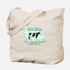 Iowa Cow Tipping Tote Bag