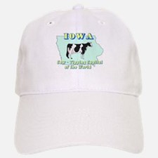 Iowa Cow Tipping Baseball Baseball Cap