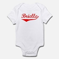 Brielle Vintage (Red) Infant Bodysuit