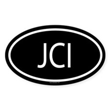 JCI Oval Decal