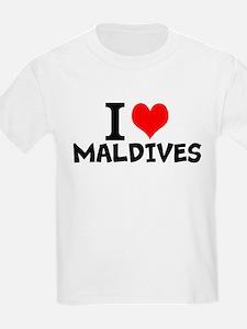 I Love Maldives T-Shirt