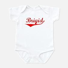 Brigid Vintage (Red) Infant Bodysuit