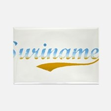 Suriname beach Rectangle Magnet