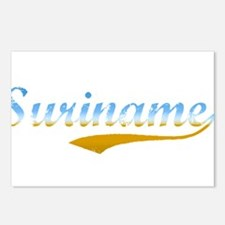 Suriname beach Postcards (Package of 8)
