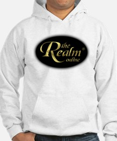 Realm 3D Gold Centered Oval Hoodie