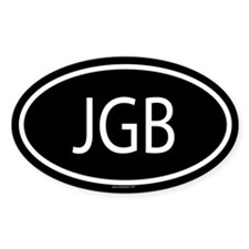 JGB Oval Decal