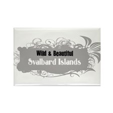 Wild Svalbard Islands Rectangle Magnet (10 pack)