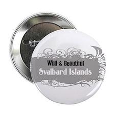 """Wild Svalbard Islands 2.25"""" Button"""