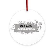 Wild Svalbard Islands Ornament (Round)