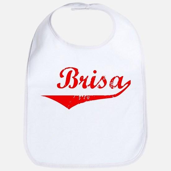 Brisa Vintage (Red) Bib